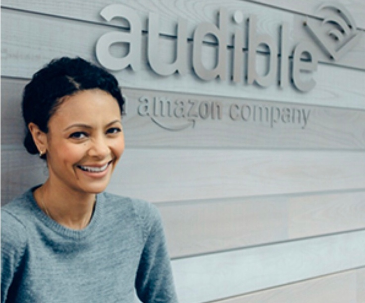 Thandie Newton at Audible