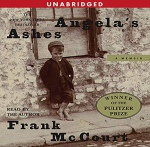 Angela's Ashes Frank McCourt Audible audiobook cover