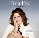 Tina Fey cover of Bossypants Audible audiobook